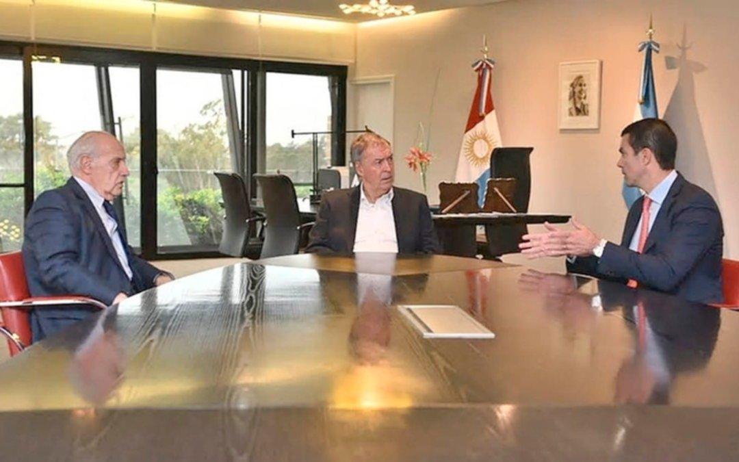 Schiaretti recibió a Lavagna y Urtubey, la fórmula de Consenso Federal