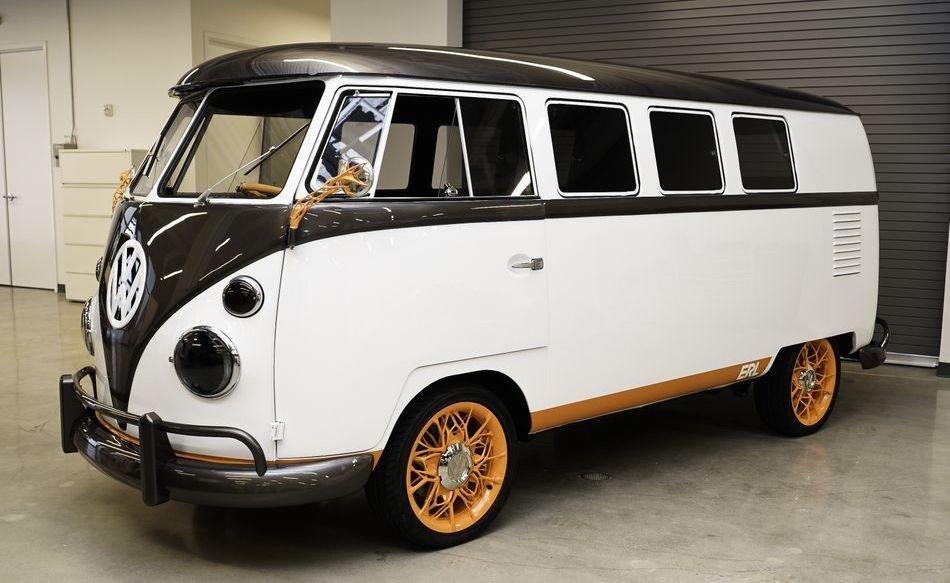 La VW Type 20, la furgoneta eléctrica retro de Volkswagen