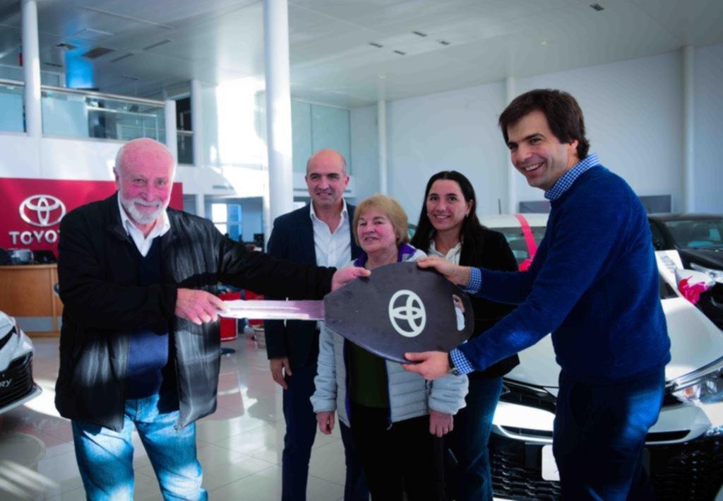 Un premio de Toyota en La Plata