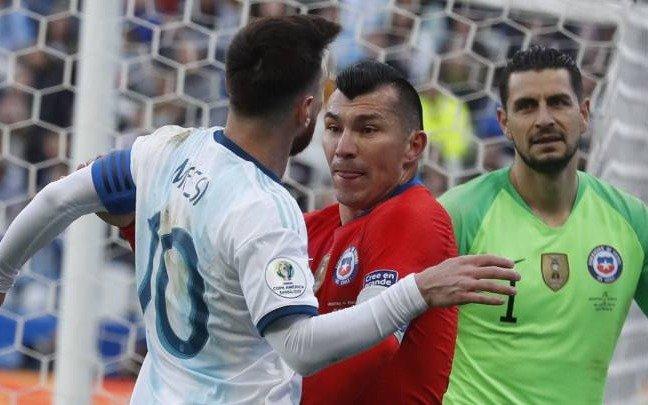 La AFA le mandó a la Conmebol un pedido de disculpas de Messi