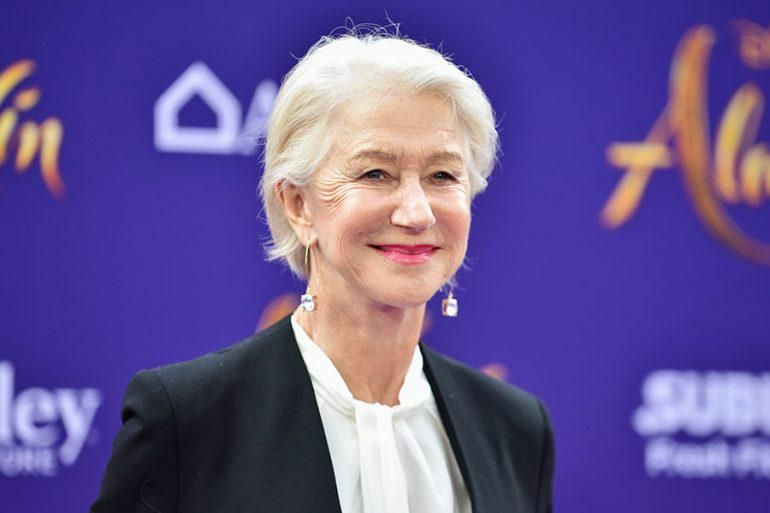 Hellen Mirren, feliz de ser mayor