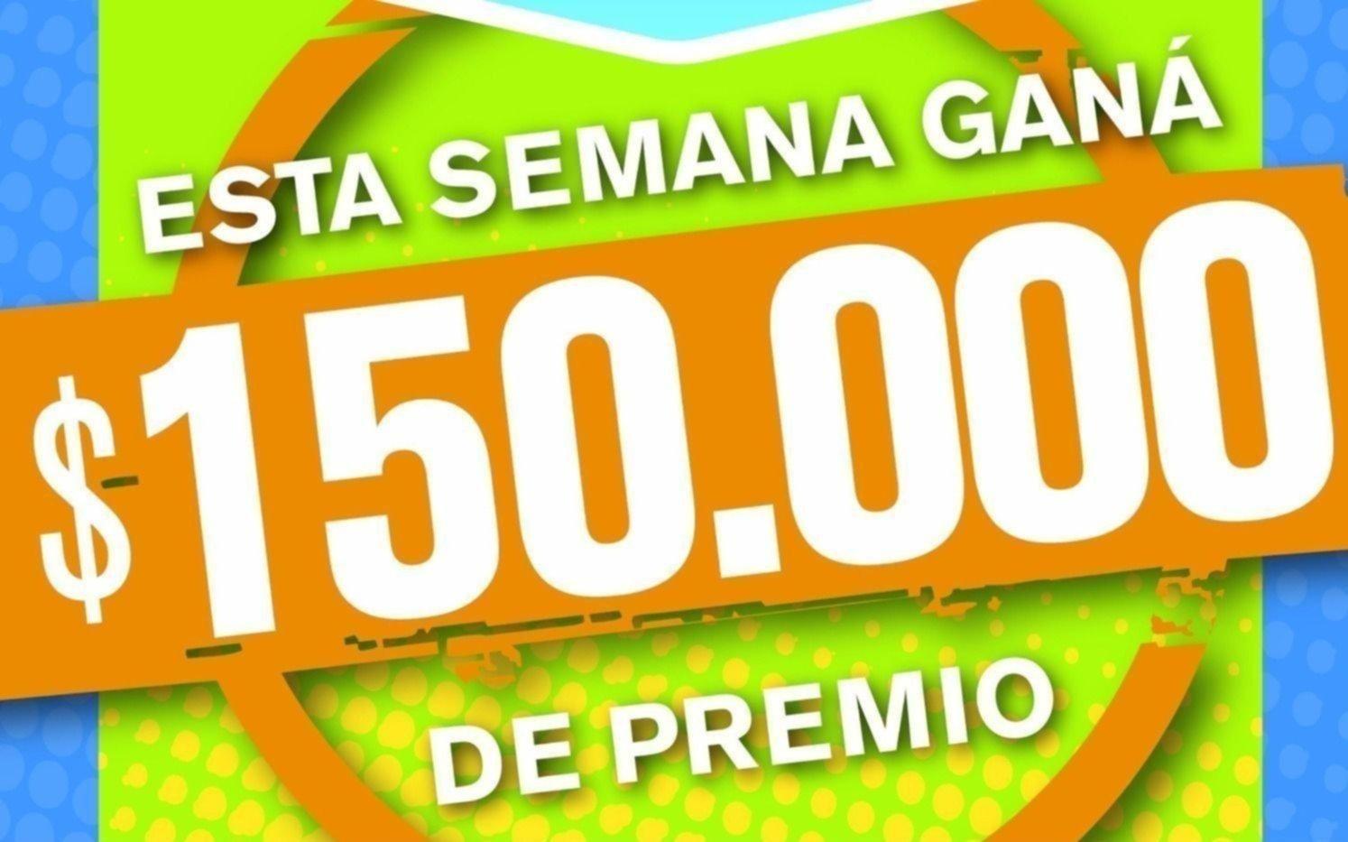 Jugá y ganá $150.000 con El Cartonazo
