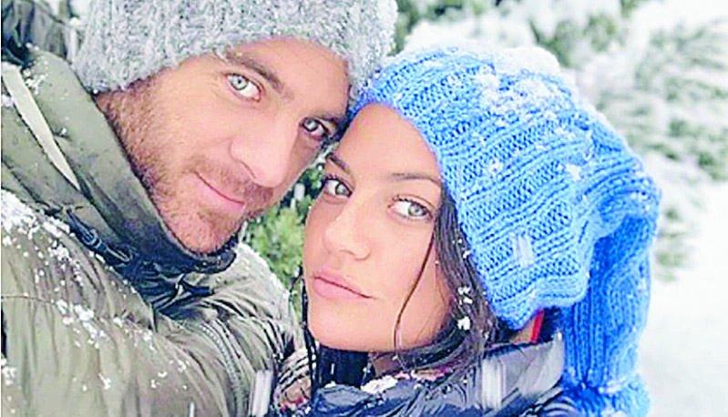 Jujuy y Delpo confirman su romance en la nieve