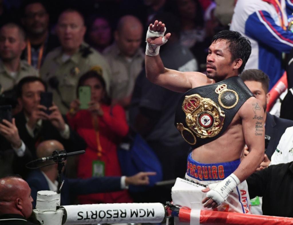 A Manny Pacquiao no le importa el paso del tiempo