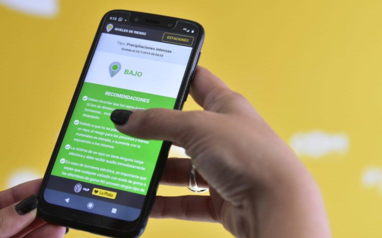 Se presentó una app para conocer datos climáticos en tiempo real de cada barrio