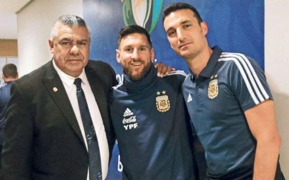 Sanción a Messi: se viene la cumbre en Conmebol con presencia de Tapia