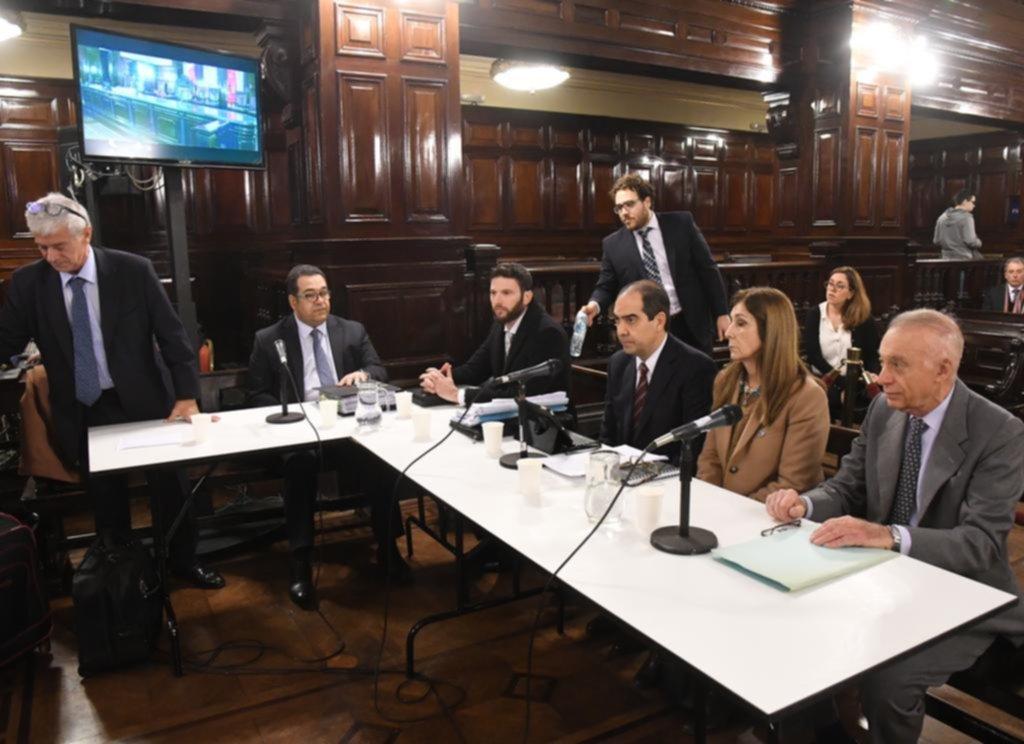"""Empezó el juicio y los peritos dijeron que la de Pérez Volpin fue """"una muerte violenta"""""""