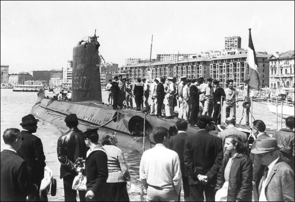 Encuentran un submarino que desapareció hace más de 50 años