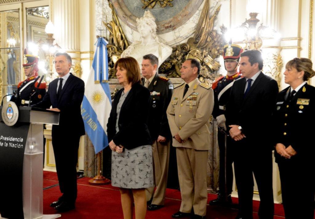 Seguridad y narcotráfico, dos caballitos de batalla de Macri en la recta final de la campaña