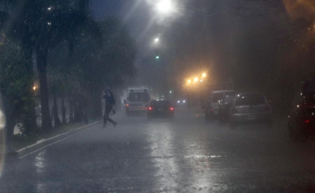 En lo que va del mes ya llovió tres veces más que la media prevista para todo julio