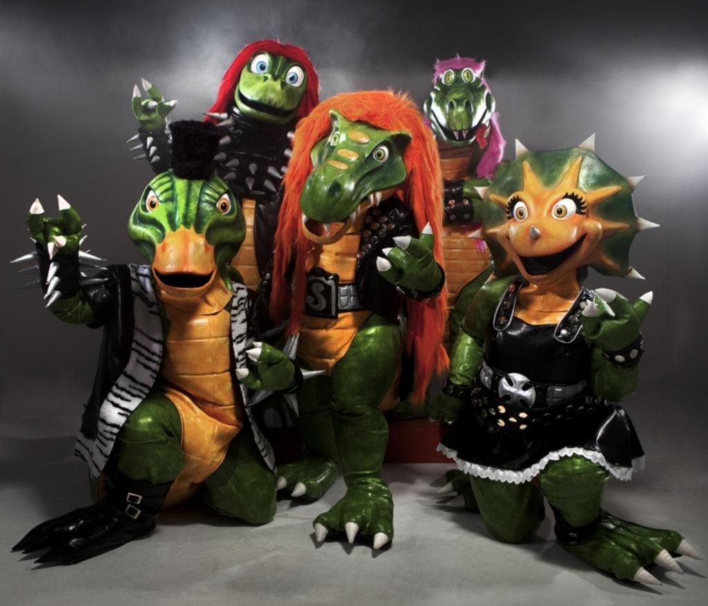Heavysaurios: metal jurásico para enseñarle a los más chicos cómo ser buenos rockeros