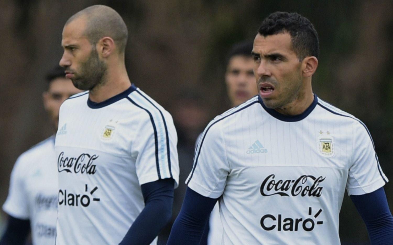 El Pincha llamó a Tevez y lo tentó para que juegue otra vez junto a Mascherano
