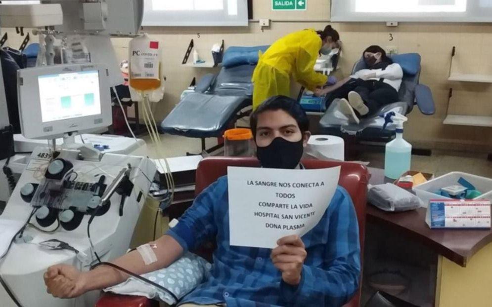 Los hijos del primer enfermero fallecido por coronavirus donaron plasma