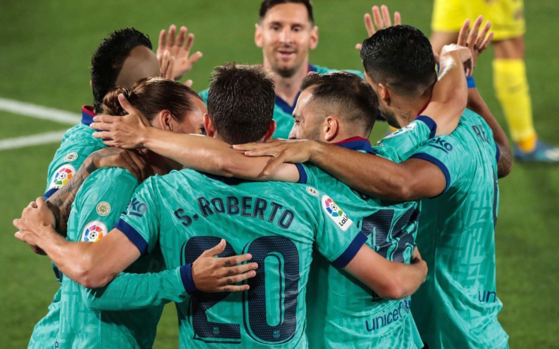 El Barcelona de Messi goleó 4-1 al Villarreal y sigue a 4 puntos del Real Madrid