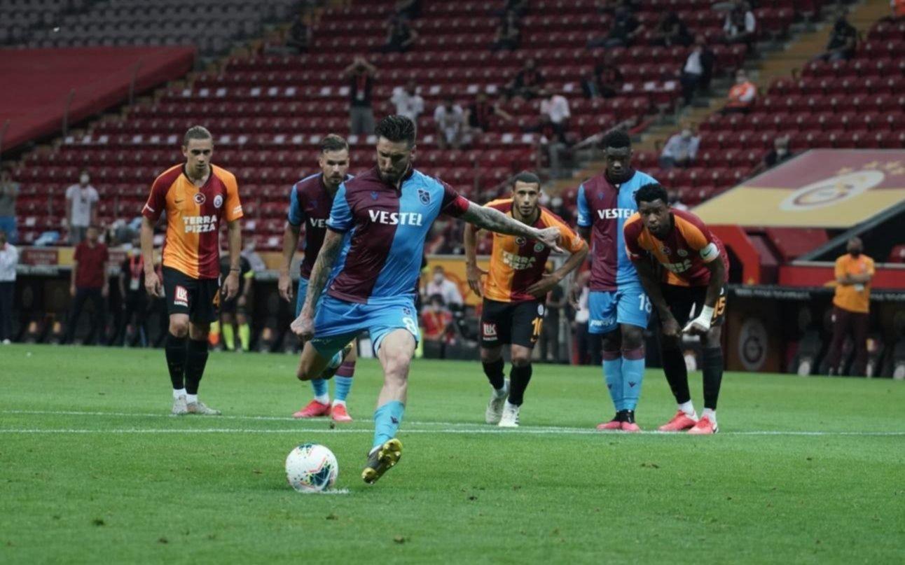 Gol y asistencia de José Sosa para el triunfo de Trabzonspor