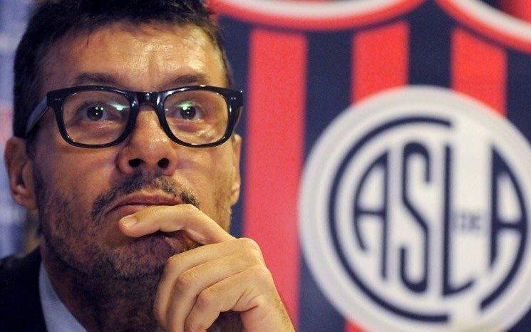 """""""Si me llama Tinelli para ir a San Lorenzo lo evaluaré"""" (¿Quién lo dijo?)"""