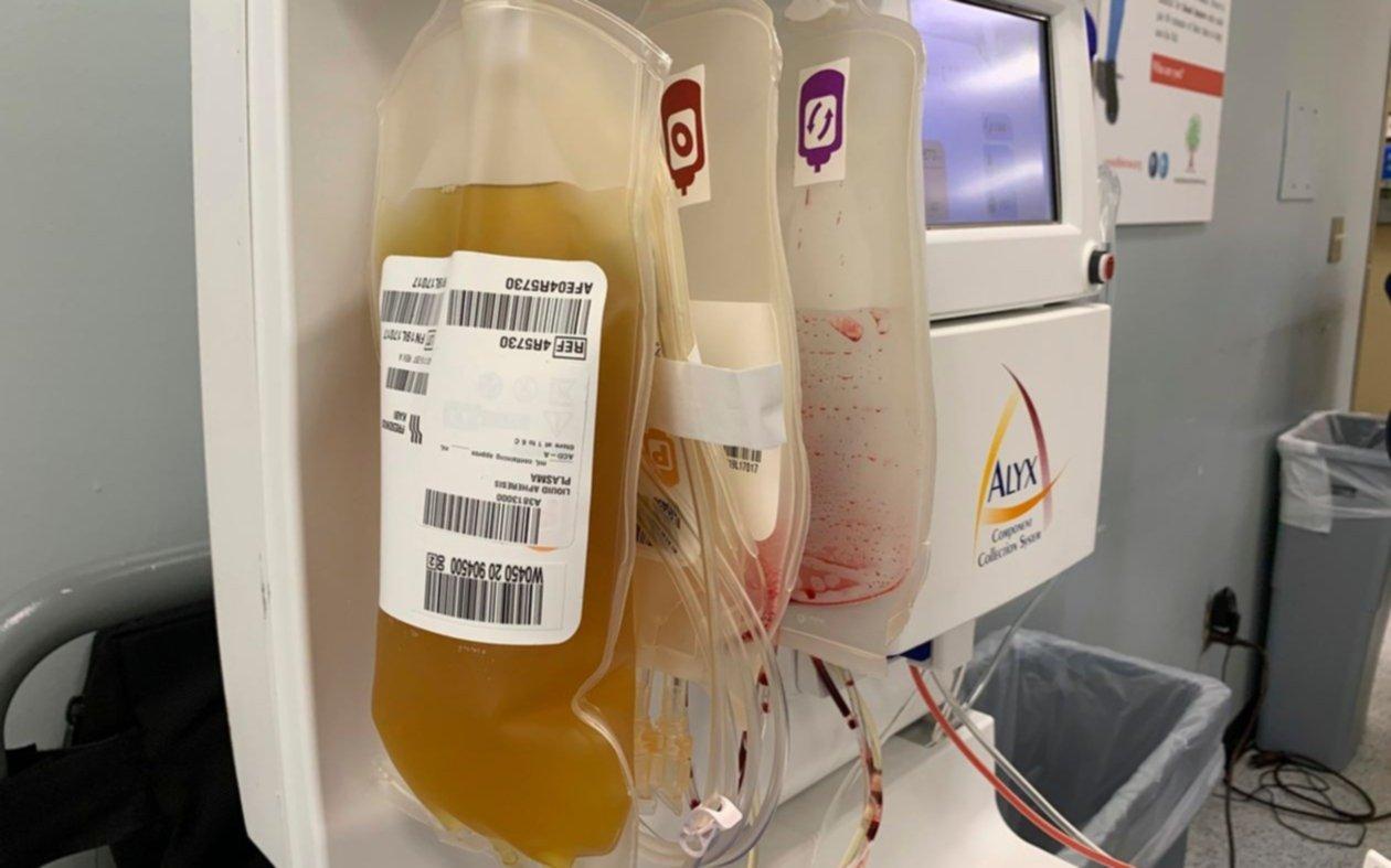 Fármaco derivado del plasma de pacientes con Covid-19 podría servir como medida preventiva