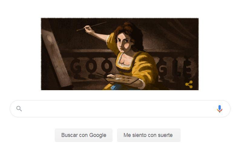 Quién fue Artemisia Gentileschi, la artista que homenajea hoy Google