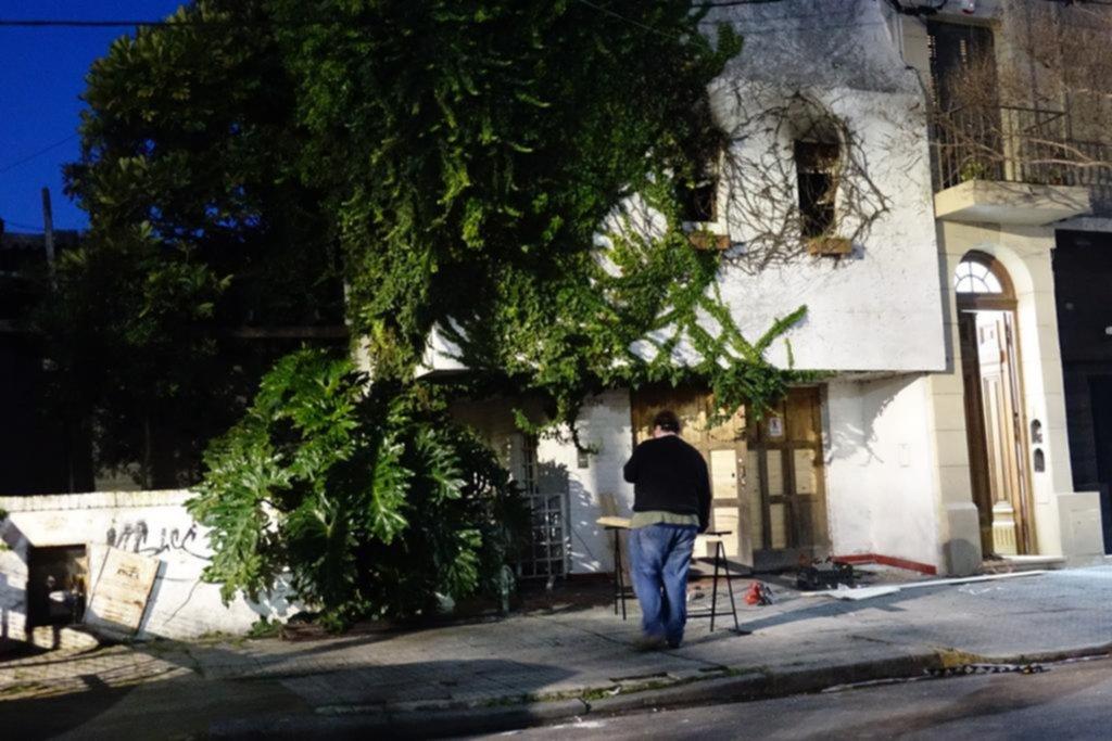 En Meridiano V, investigan las causas del incendio que se llevó la vida de un vecino de 80 años