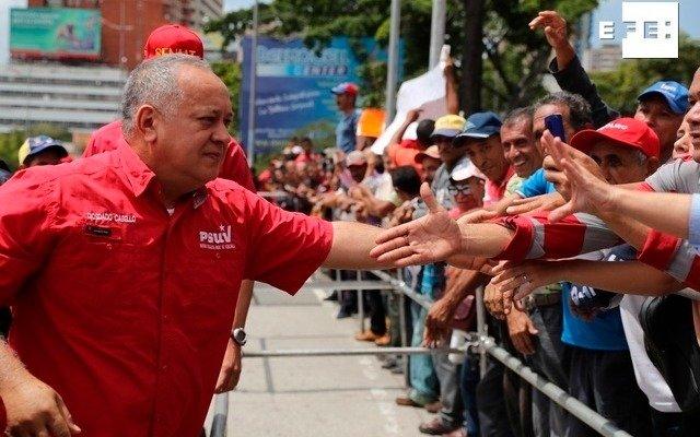 Diosdado Cabello y un gobernador tienen coronavirus en Venezuela