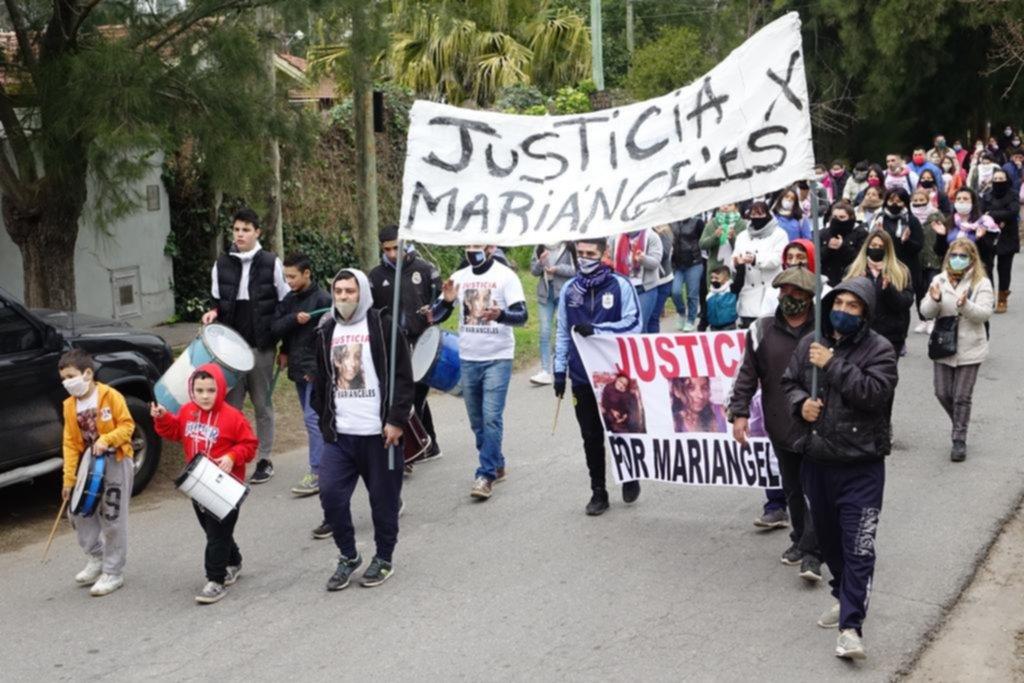 Volvieron a marchar por el crimen de Mariángeles