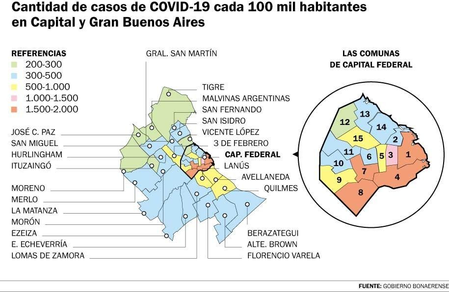 Se profundizan las diferencias entre la Provincia y Capital por la cuarentena