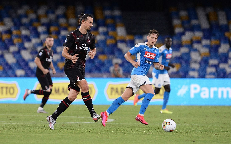Vibrante empate entre Napoli y Milan