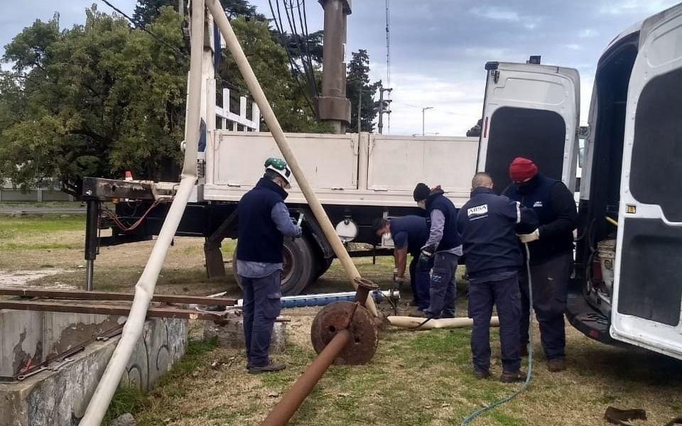 ABSA cambió un equipo de bombeo en la perforación de Camino Belgrano y 514