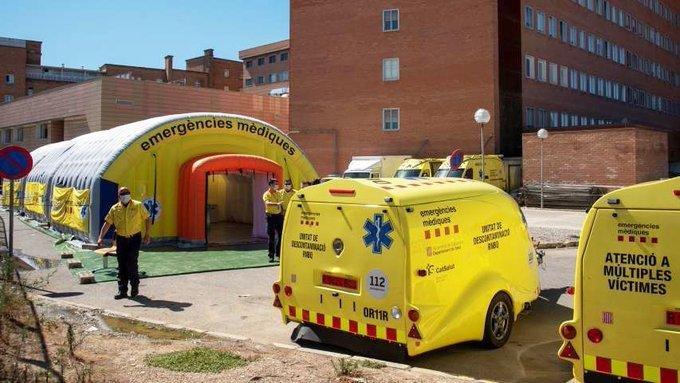 Una zona de Cataluña, otra vez al aislamiento