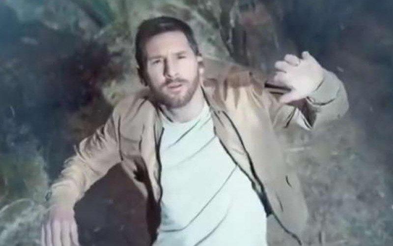 """Messi """"secuestrado"""" por extraterrestres en una original publicidad"""