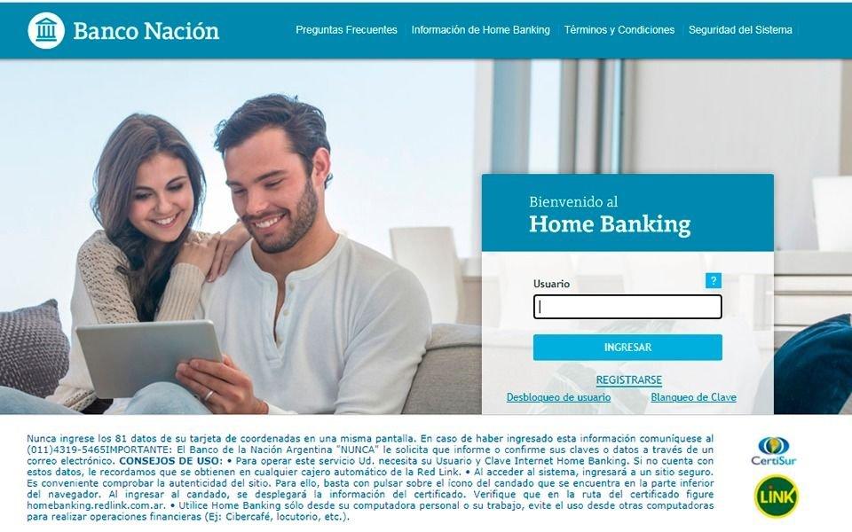 Banco Nación alerta a sus clientes por una estafa sobre robo de datos
