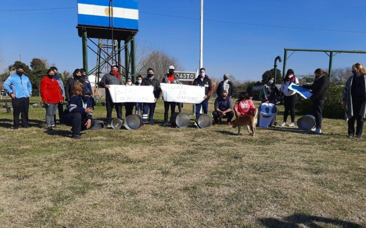Vecinos de Abasto reclamaron por asistencia de alimentos y medidas contra el Covid-19