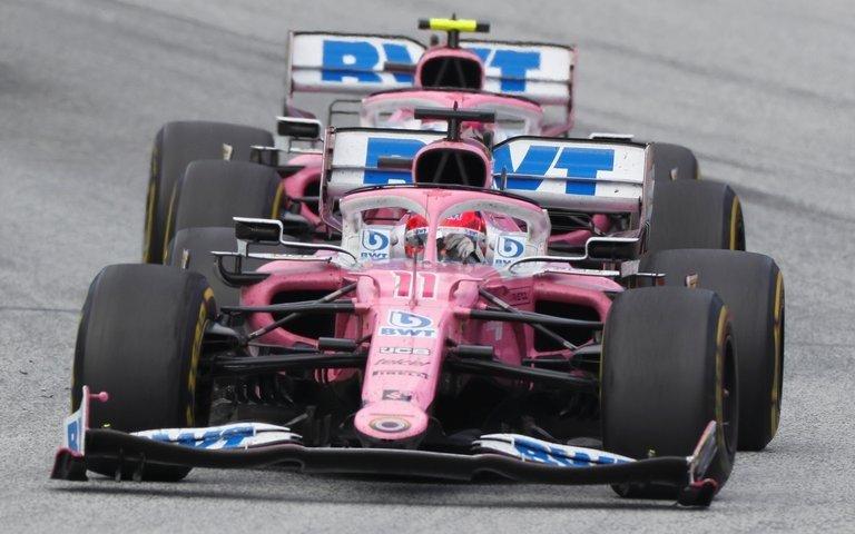 """El """"Mercedes Rosa"""" que genera polémica en la F1 y el apoyo de Schumacher"""