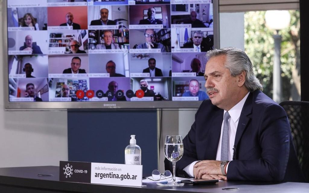 Luego de críticas K, Alberto Fernández aseguró que el Gobierno no cambió su postura sobre Venezuela