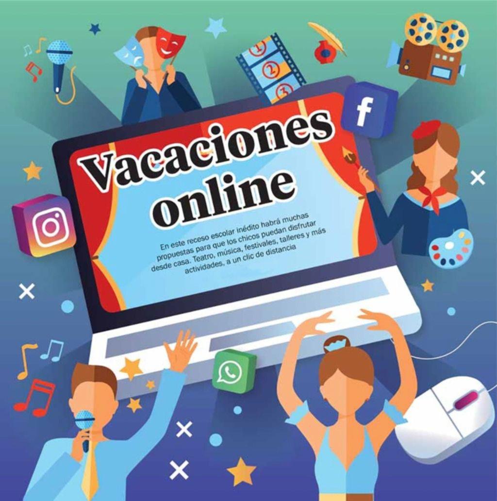 Recreo en casa: qué hacer en estas vacaciones online