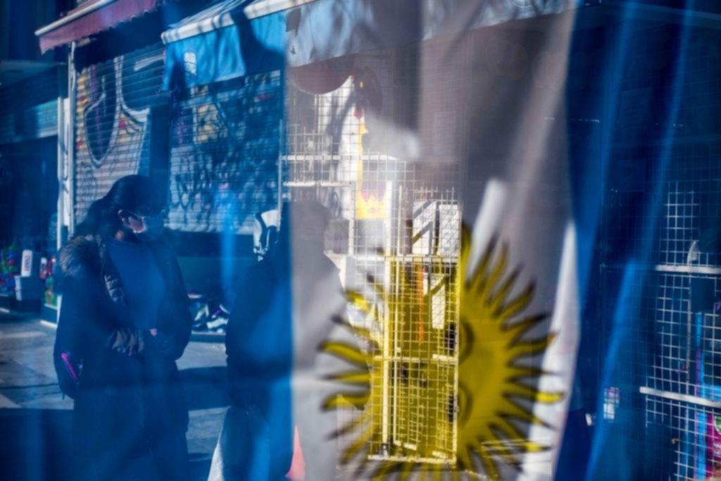 """La Plata en imágenes: """"Yo quiero a mi bandera"""""""