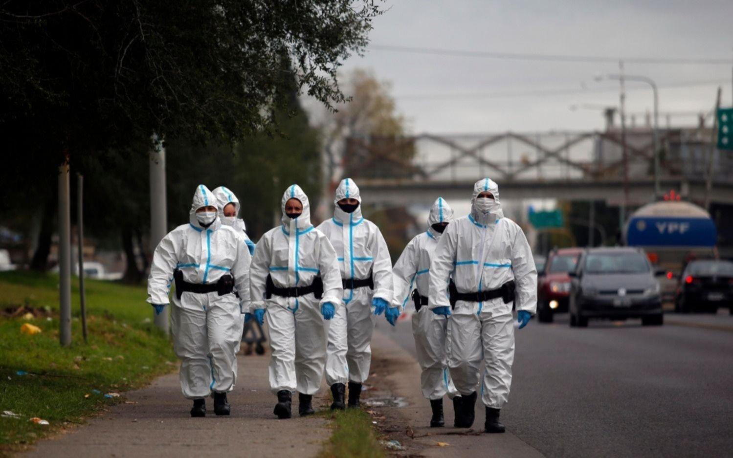 Confirman cuatro muertes por COVID-19 en la Región y 117 nuevos contagios en La Plata