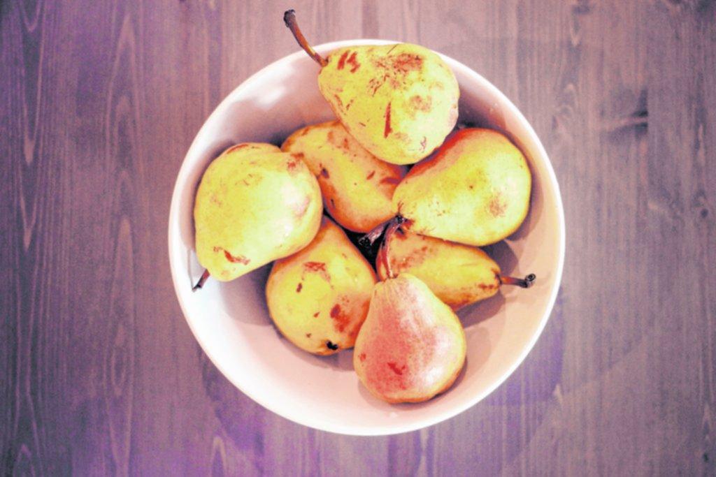 Frutas: entradas y postres