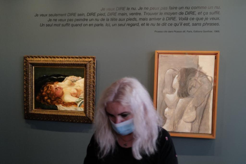 Picasso y Courbet, dos genios por primera vez frente a frente