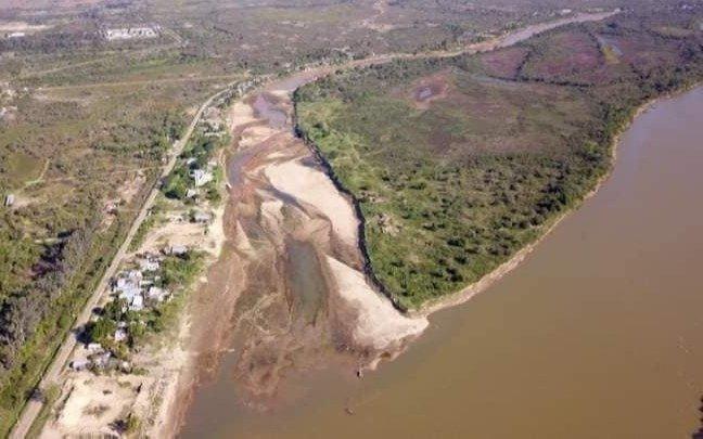 Bajante récord del río Paraná: lleva 730 días y se estima que continúe hasta diciembre