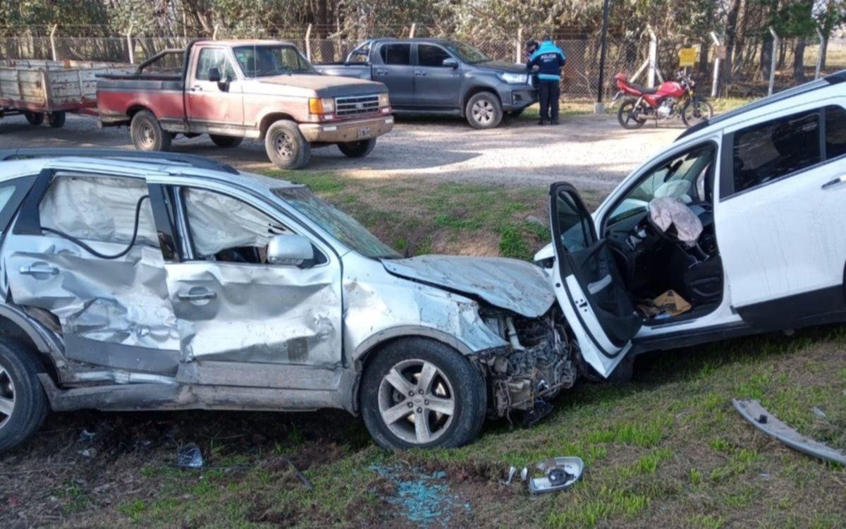 Tremendo choque en Ruta 2, que dejó a una familia herida: un bebé hospitalizado