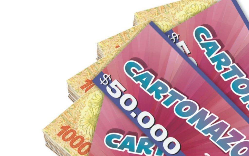 Fuerte expectativa en la Región: el Cartonazo quedó vacante y ahora se juega por $350.000