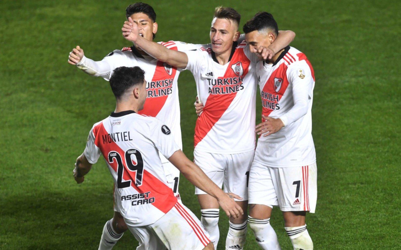 River le ganó a Argentinos en La Paternal y avanzó a cuartos de final de la Copa Libertadores