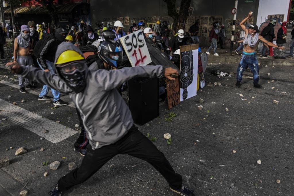 Colombia: decenas de heridos y detenidos por las protestas