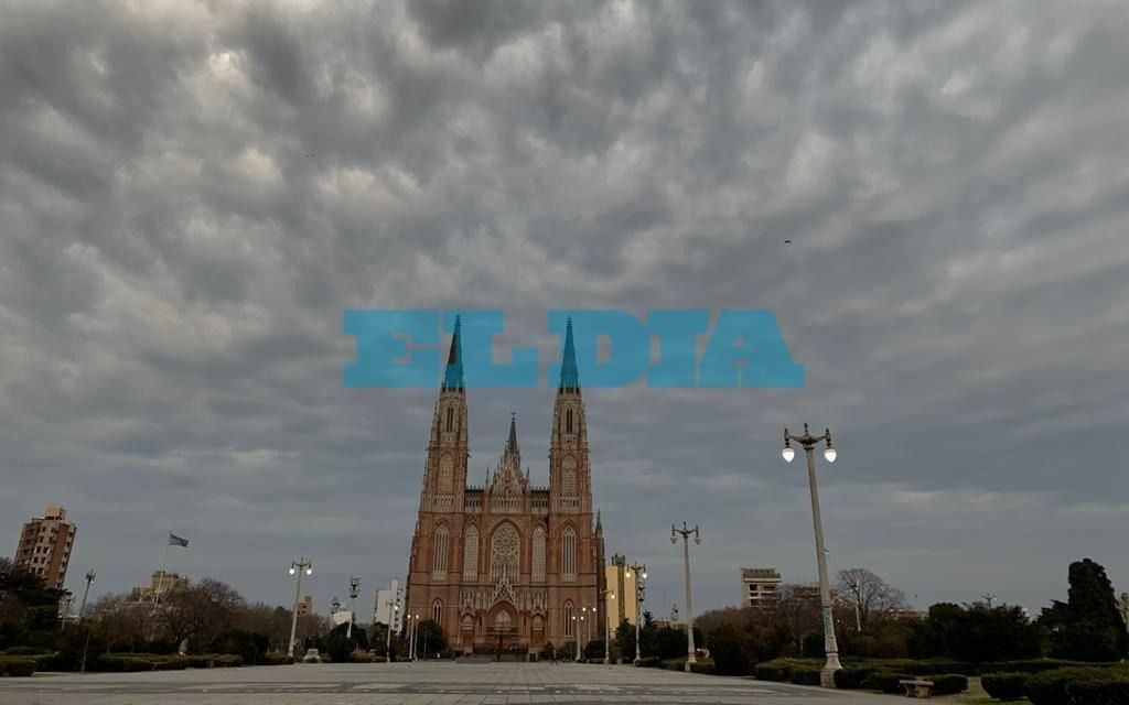 Sábado inestable en La Plata: se esperan tormentas aisladas por la noche