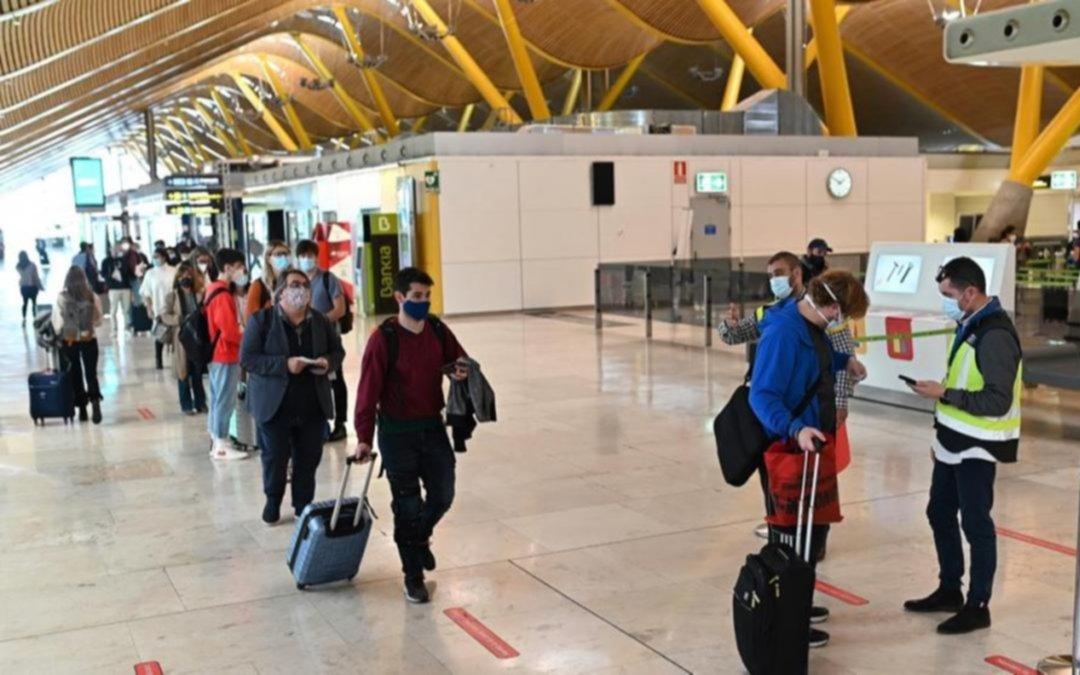 España impone cuarentena obligatoria para viajeros de la Argentina