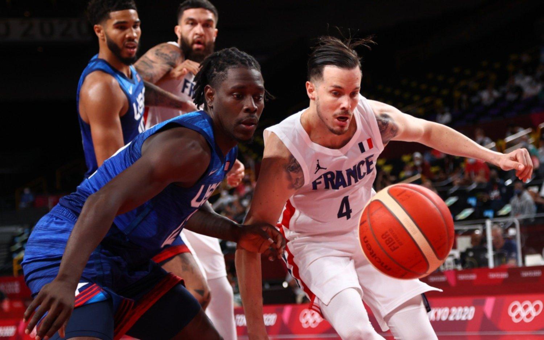 Batacazo en los Juegos Olímpicos: Estados Unidos  cayó ante Francia en básquet