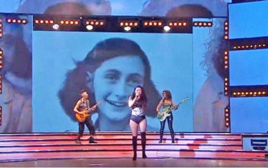 Siguen los repudios a Tinelli por el uso de la imagen de Ana Frank en ShowMatch