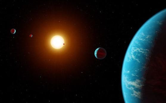 """Descubren un sistema multiplanetario: lo formandos """"sub-Neptunos"""" y una """"súper-Tierra"""