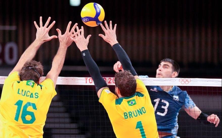 Brasil se lo dio vuelta a Argentina y se quedó con el clásico de vóley en Tokio